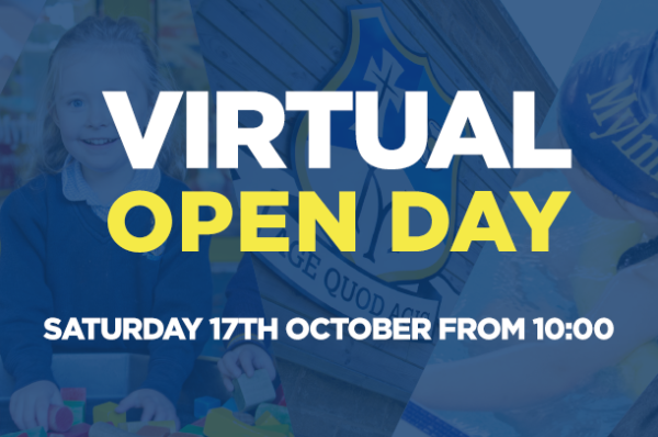 Virtual Open Day – Saturday 17th October